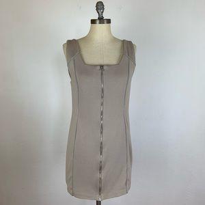 Alexander Wang Tan Zipper Dress